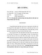 Giải pháp đẩy mạnh hoạt động bán hàng điện tử, điện lạnh của công ty thương mại Việt Long