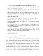 Hoàn thiện tổ chức công tác kế toán tại Tổng công ty Hàng không Việt Nam