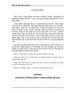 Báo cáo thực tập tổng hợp về Tổng Công ty Hàng không Việt Nam