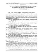 GIẢI PHÁP NÂNG CAO CHẤT LƯỢNG TÍN DỤNG TRUNG – DÀI HẠN TẠI CHI NHÁNH NGÂN HÀNG No&PT ĐÔNG HÀ NỘI