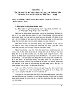 Tín dụng và rủi ro tín dụng tại ngân hàng nông nghiệp & phát triển nông thôn Hà Nội - Thực trạng và giải pháp