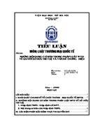 Những nội dung cơ bản trong pháp luật wto về quyền sở hữu trí tuệ và vấn đề thương hiệu