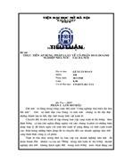 Thực tiễn áp dụng pháp luật về cổ phần hoá Doanh nghịêp nhà nước tại Hà Nội