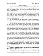 Phân tích thống kê diện tích, năng suất, sản lượng lúa tỉnh Bình Định thời kỳ 1995-2005
