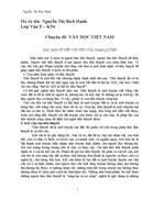 Văn học việt nam 1