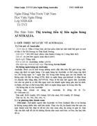Thị trường tiền tệ liên ngân hàng AUSTRALIA