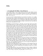 Tư tưởng Hồ Chí Minh về vấn đề dân tộc