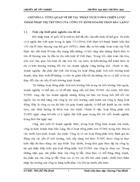 Báo cáo thực tập tổng hợp Phân tích TOWS chiến lược thâm nhập thị trường của công ty kinh doanh than Bắc Lạng