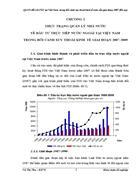 QLNN đối với FDI tại Việt Nam trong bối cảnh suy thoái kinh tế toàn cầu giai đoạn đến nay
