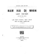 Nam hải dị nhân liệt truyện
