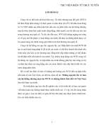 Những nguyên tắc cơ bản của hệ thống thương mại của WTO và những thách thức đối với Việt Nam