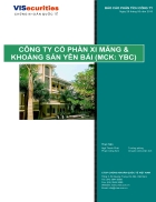 Báo cáo phân tích cổ phiếu công ty cổ phần xi măng và khoáng sản Yên Bái YBC