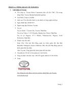 Chiến lược kinh doanh quốc tế của toyota