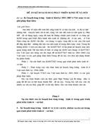 Kế hoạch tăng trư ởng kinh tế thời kỳ 2001 2005 ở Việt nam và các giải pháp thực hiện