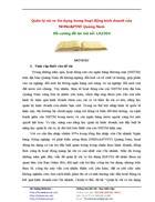 Quản lý rủi ro tín dụng trong hoạt động kinh doanh của NHNo PTNT Quảng Nam