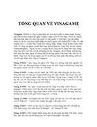 Quản Trị Chiến Lược Chiến lược kinh doanh của VINAGAME