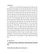 Bài tập học kỳ thương mại 2 Một số vấn đề pháp lý về hợp đồng mua bán hàng hóa