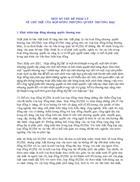 Một số vấn đề pháp lý về chủ thể của hợp đồng nhượng quyền thương mại