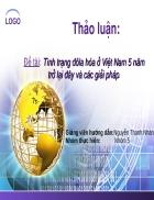 Đề tài Tình trạng đôla hóa ở Việt Nam 5 năm trở lại đây và các giải pháp trở lại đây và các giải pháp