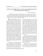 Báo cáo nghiên cứu khoa học Những chuyển biến về cơ cấu giai cấp xã hội Trung Quốc cuối thế kỷ XIX đầu thế kỷ XX