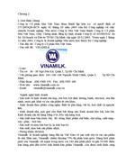 Quản trị chuỗi cung ứng Đánh giá chuỗi cung ứng của Công ty Cổ phần Sữa Việt Nam VINAMILK
