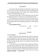 Tìm hiểu tiềm năng phát triển du lịch huyện Tiên Yên tỉnh Quảng Ninh