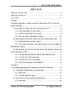 Báo cáo thực tập tốt nghiệp về công ty sản xuất và thương mại TMC