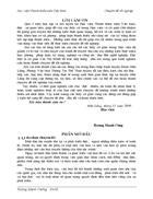Đoàn thanh niên cộng sản Hồ Chí Minh huyện Hữu Lũng tỉnh Lạng Sơn với sự nghiệp giữ gìn và phát huy bản sắc văn hoá dân tộc