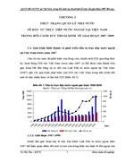 QLNN đối với FDI tại Việt Nam trong bối cảnh suy thoái kinh tế toàn cầu giai đoạn 2007 đến nay
