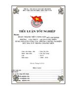 Đoàn TNCS Hồ Chí Minh Phường Gia Thụy với công tác phòng chống tệ nạn nghiện hút ma tuý trong thanh niên