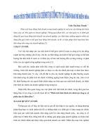 Phân tích tình hình tài chính tại Công ty Cổ phần bao bì Biên Hòa