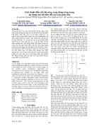 Giải thuật điều chế độ rộng xung dùng sóng mang áp dụng cho bộ biến đổi ma trận gián tiếp