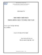 THƠ THIỀN THỜI TRẦN TRONG DÒNG CHẢY VĂN HÓA Việt Nam