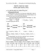 Phương pháp xác định đường khử đường tổng