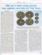 Một số ý kiến xung quanh việc nghiên cứu tiền cổ ở Việt Nam