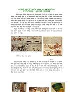 Nghệ thuật hội họa và đời sống con người ai cập cổ đại 1