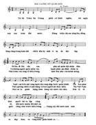 Ký âm Bài ca phụ nữ Quân đội