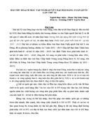 Bài thu hoạch học tập Nghị Quyết ĐH XI