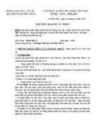 Bài thu hoạch nghi quyết 2011