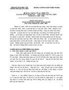Báo cáo đại hội Chi Bộ Đảng