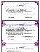 Mẫu giấy mời GV dự liên hoan lớp