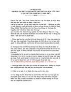 Nghị quyết Đại hội Công Đoàn 1