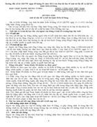 Hướng dẫn số 01 HD TW ngày 05 01 2012 của Ban Bí thư về 1 số vấn đề cụ thể thi hành điều lệ Đảng