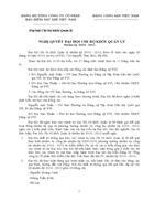 Nghị quyết đại hội chi bộ đảng