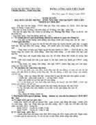 Nghị quyết và biên bản đại hội chi bộ Đảng
