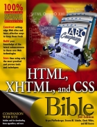 HTML XHTML and CSS Bible