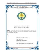 Hoàn thiện quy trình kiểm toán khoản mục doanh thu trong kiểm toán Báo cáo tài chính do công ty TNHH Kiểm toán Tư vấn Định giá ACC VIỆT NAM thực hiện 1