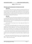 Phân tích và lập kế hoạch tài chính tại công ty cổ phần NAM TIẾN