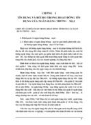 Thực trạng tín dụng và rủi ro tín dụng tại Ngân hàng Nông nghiệp và Phát triển Nông thôn Hà Nội