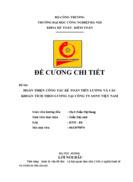 Hoàn thiện công tác Kế toán tiền lương và các khoản trích theo lương tại Công ty SONY Việt Nam
